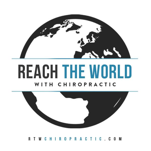 Rich the World with Chiropractic logo